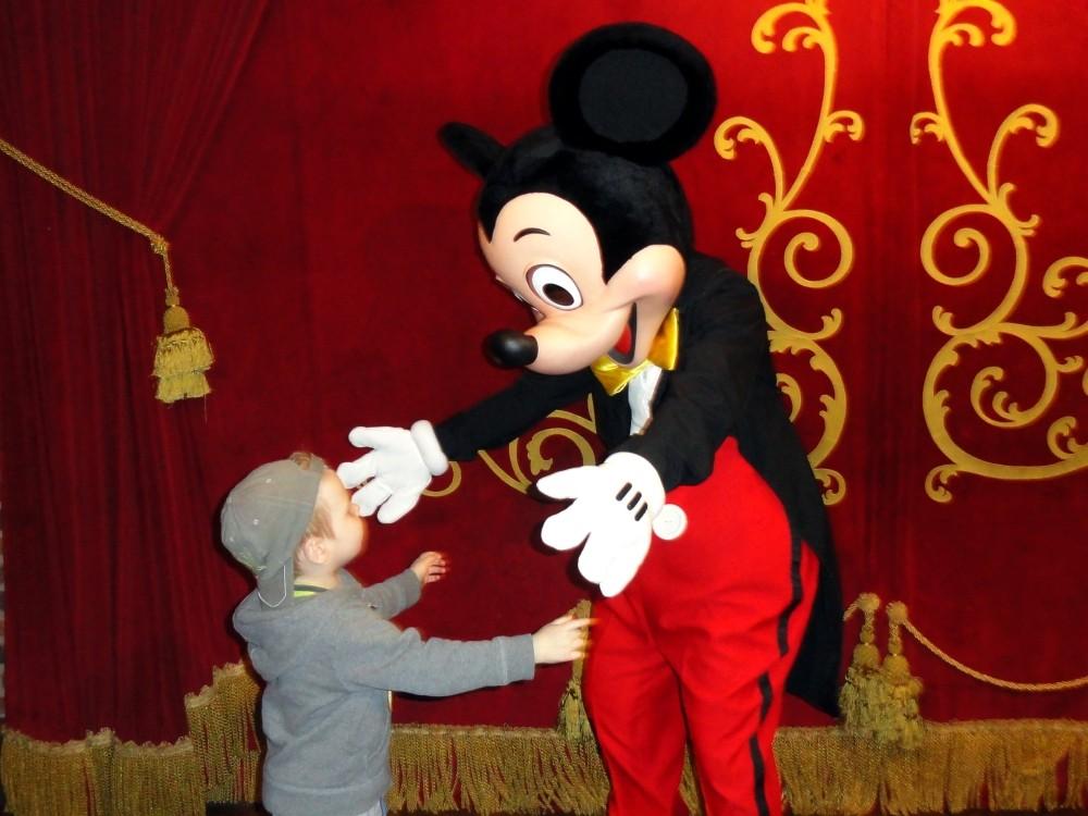 W Disneyworld zawsze jest czas na przytulanki