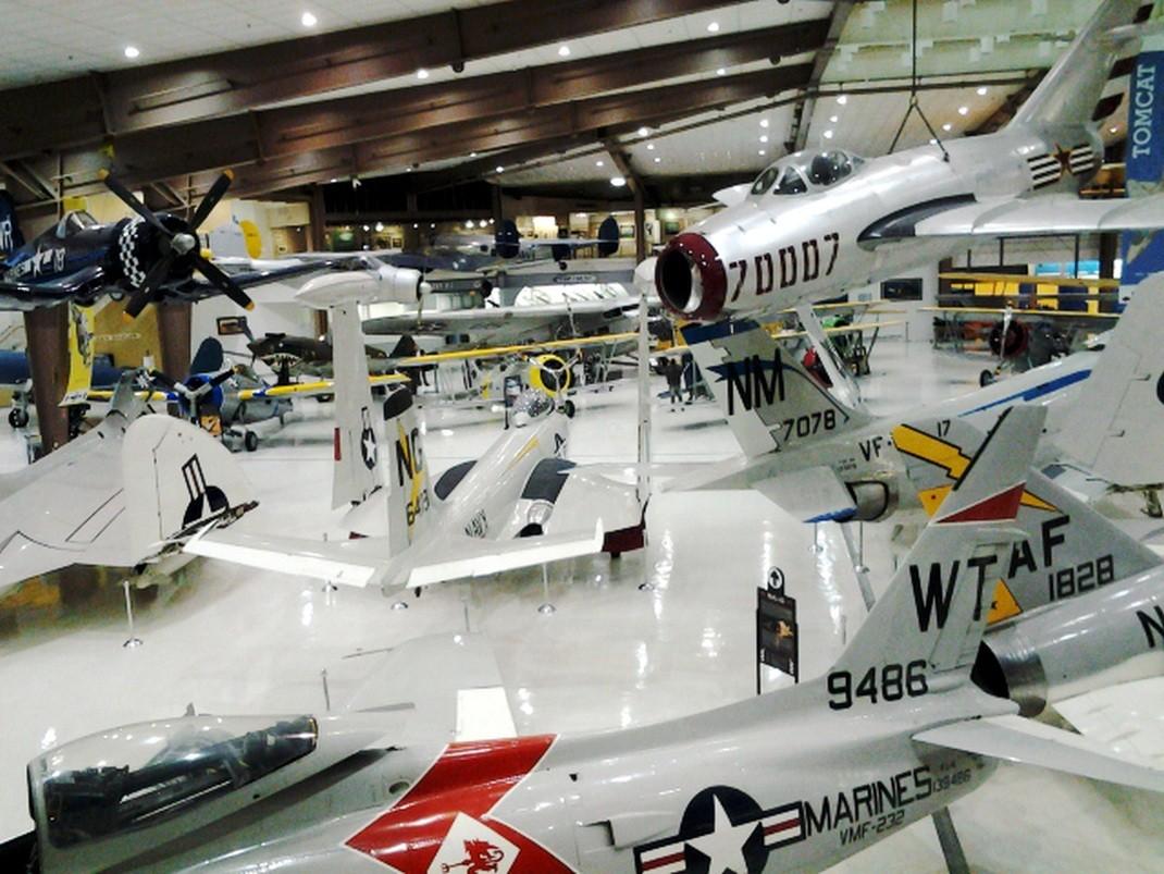 Pensacola. Muzeum Lotnictwa Marynarki Wojennej