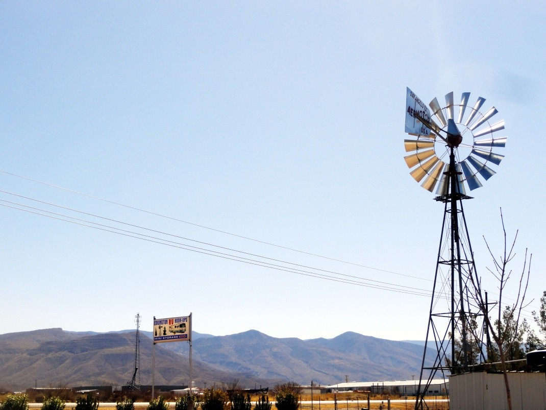 Kemping w Alamogordo