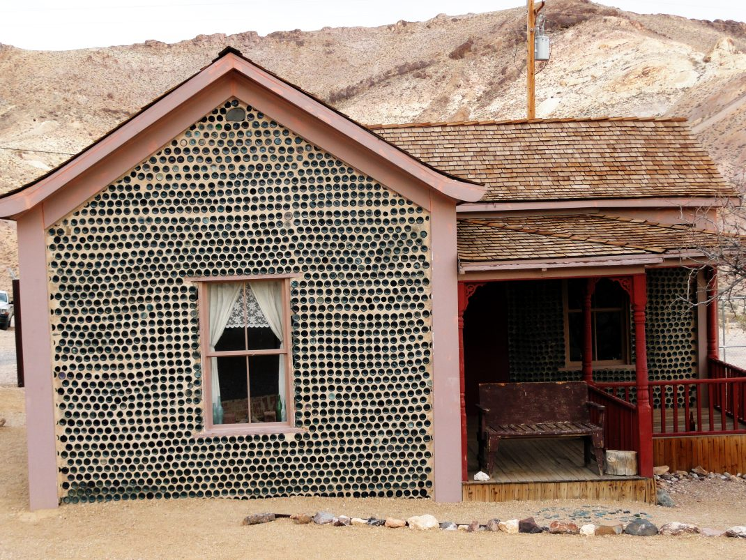 Dom z butelek w Rhyolite