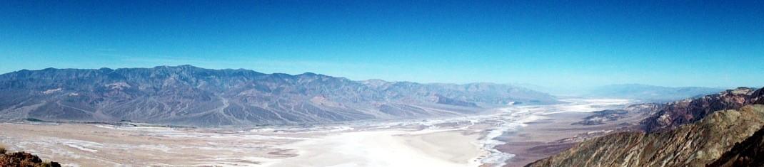 Dolina Śmierci. Dante's View