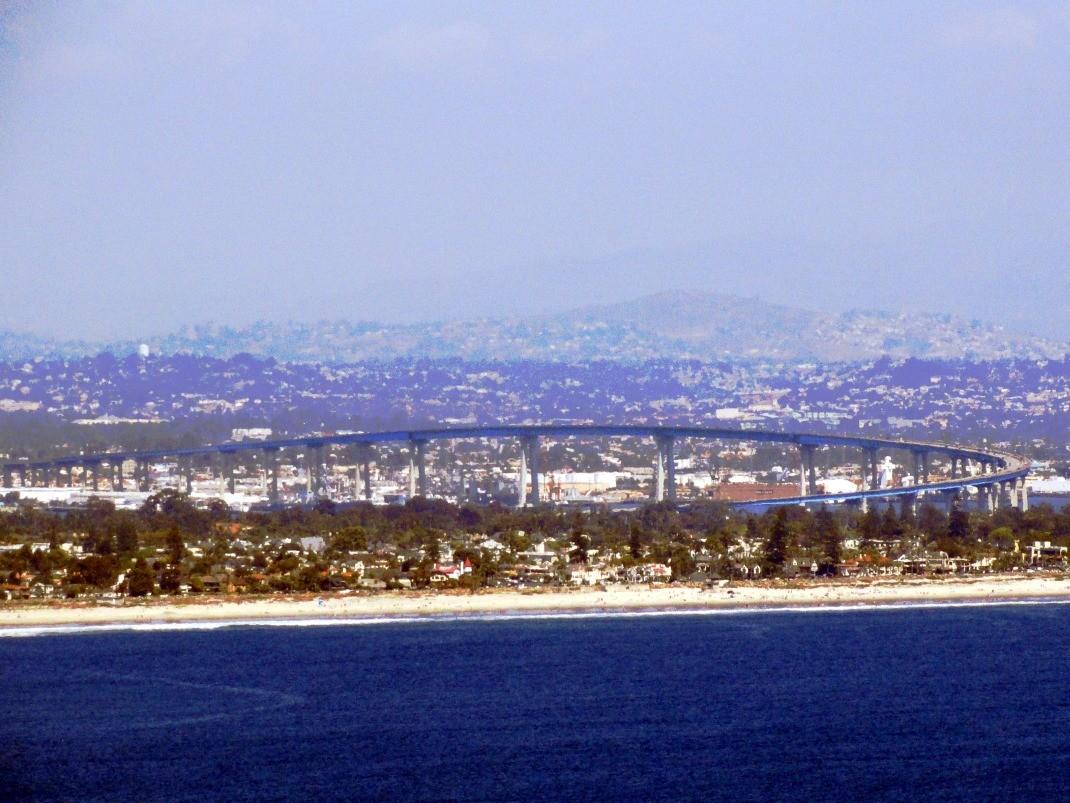 Atrakcje San Diego. Most na Coronado
