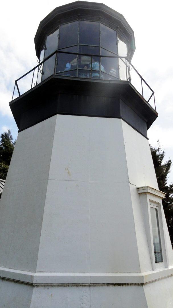 Najniższa latarnia morska na Oregońskim wybrzeżu (Cape Meares Lighthouse)