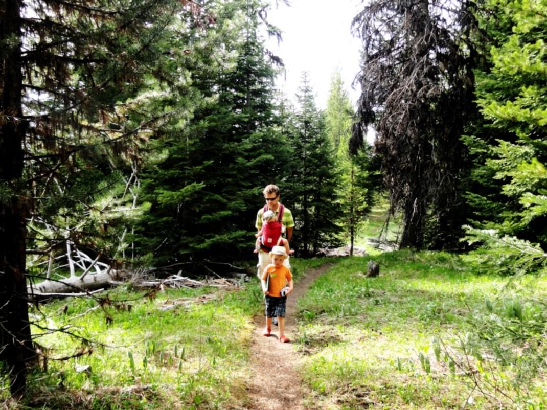 Na szlaku w Górach Błękitnych, Oregon