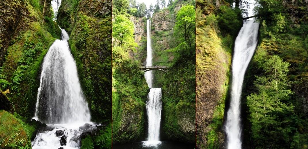 Multonomah Falls - największa atrakcja Oregonu