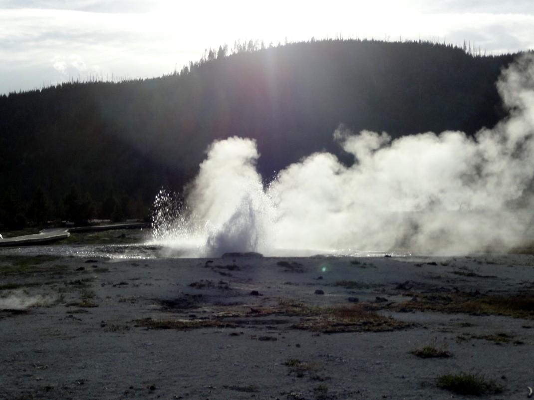 Gejzer w Yellowstone