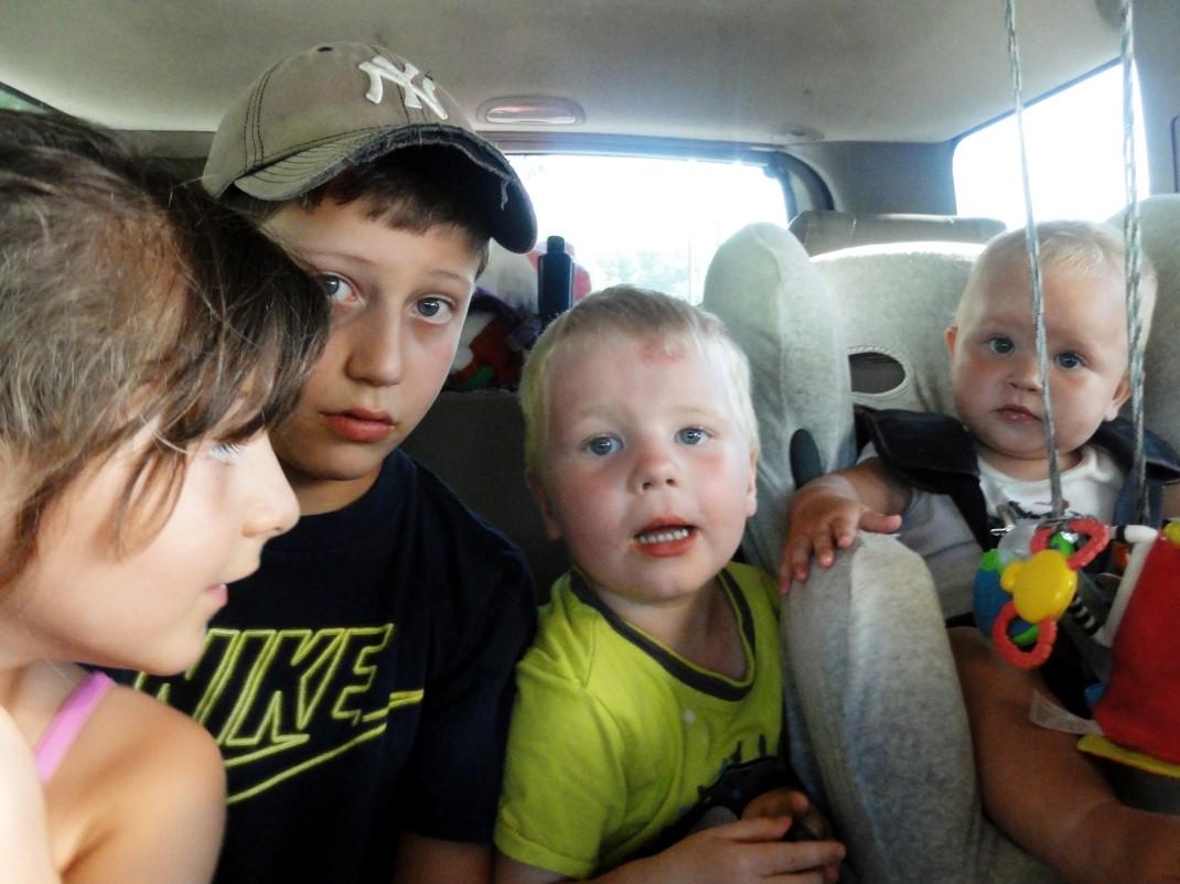 Eliza, Liam, Maciek i Kalina