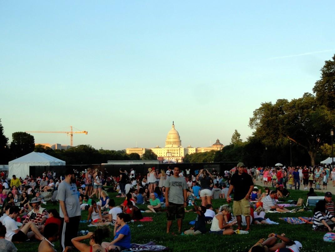Waszyngton. Czwartolipcowe tłumy