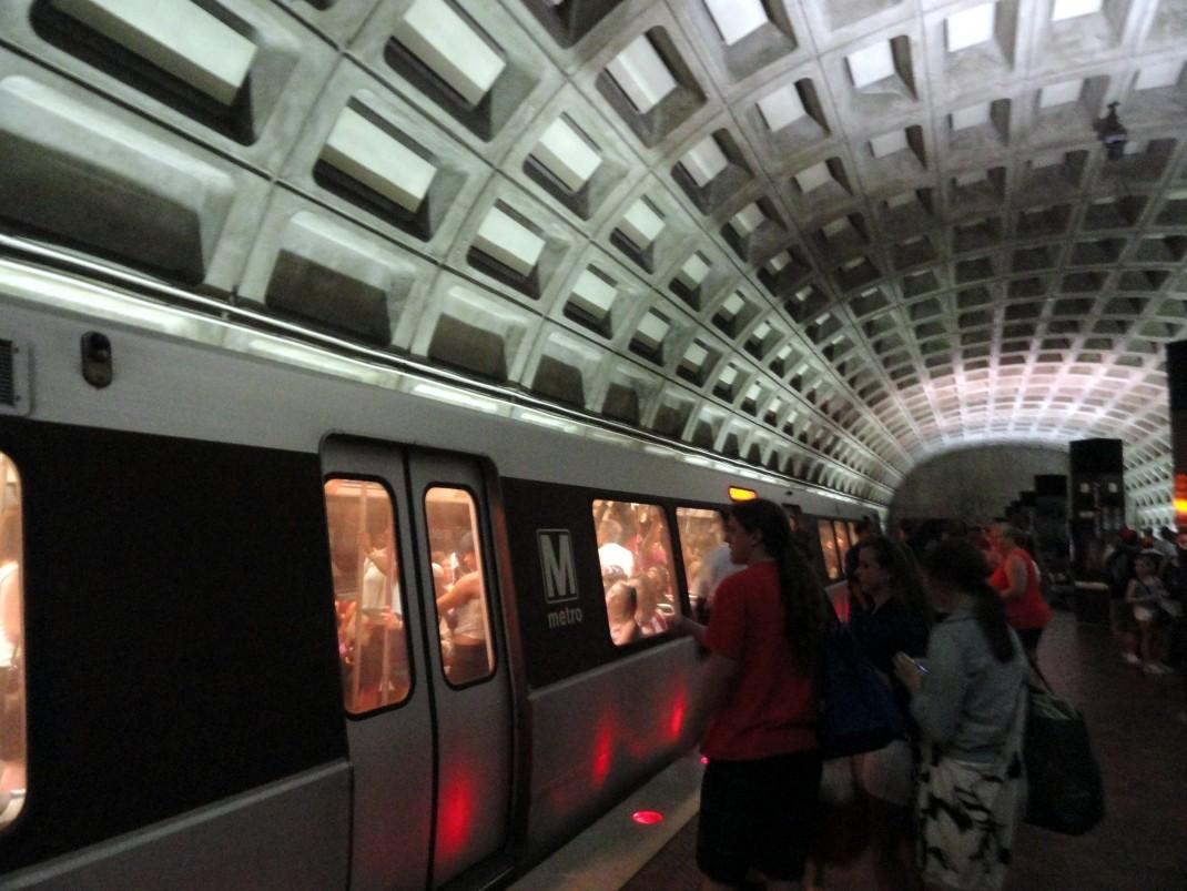 Retro metro w Waszyngtonie