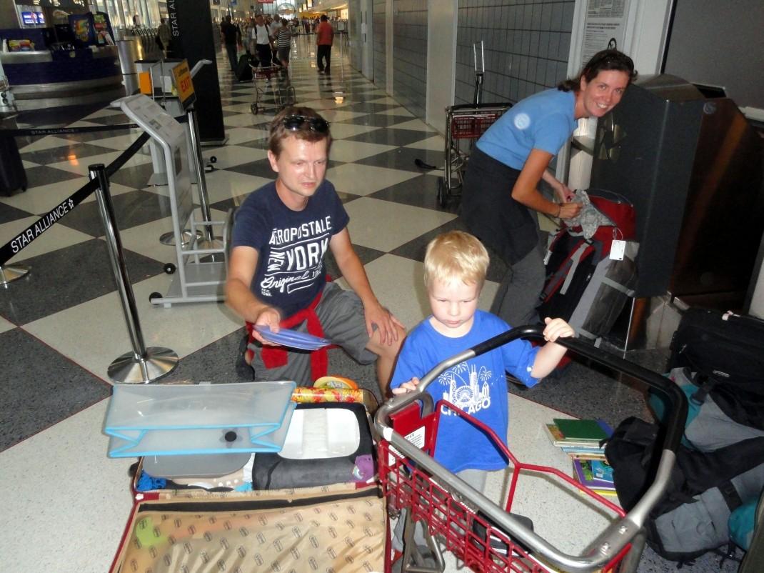 Lotniskowe przepakowywanie