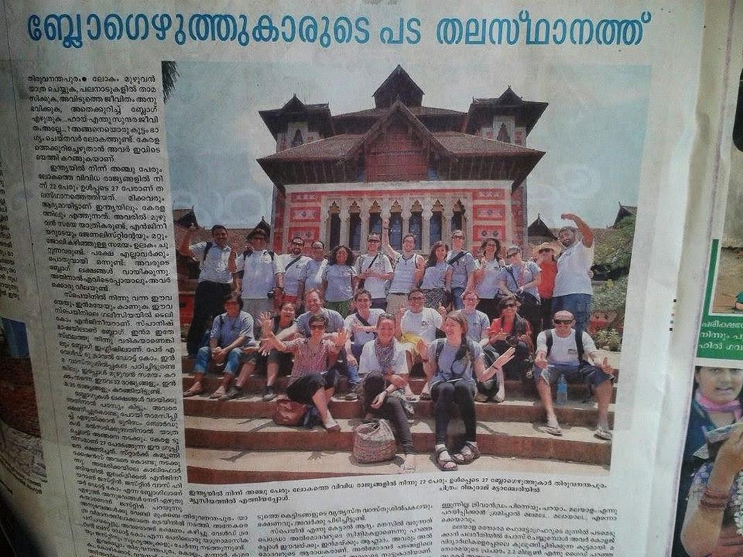 Blogerzy z KBE w lokalnej prasie