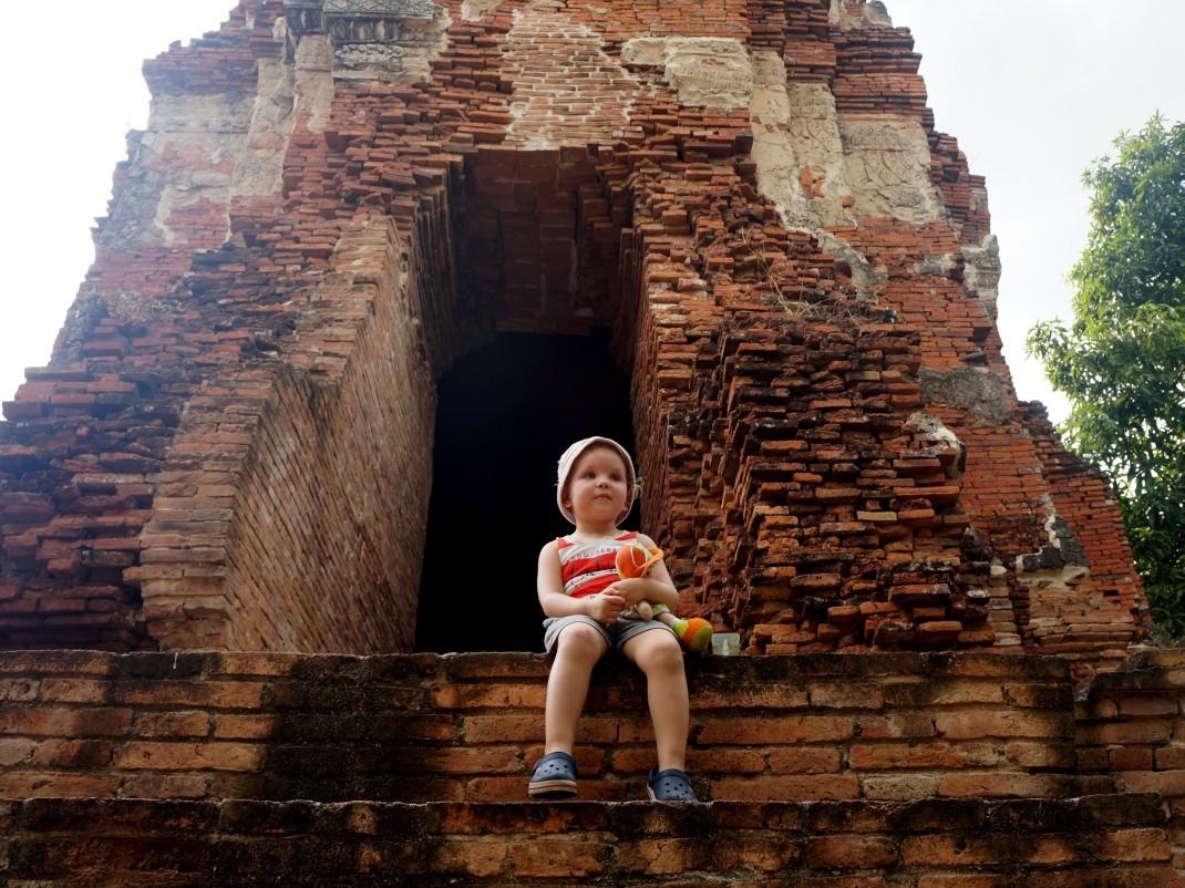 Ayutthaya - w ruinach świątyni