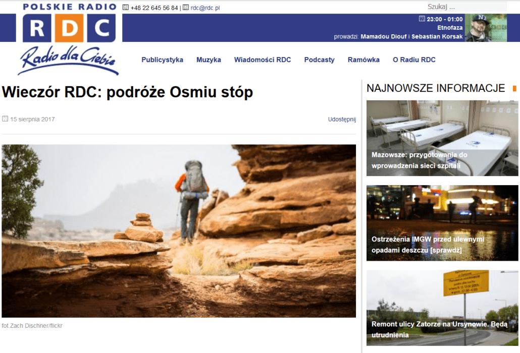 Osiem Stóp w RDC