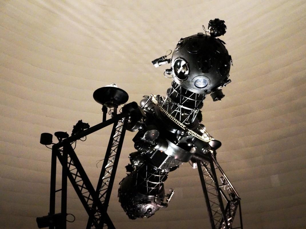 Planetarium w Parku Śląskim z dziećmi