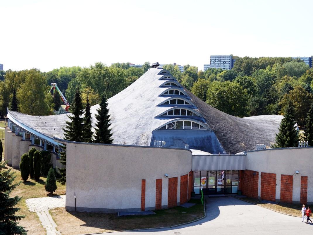Kapelusz. Architektoniczna perełka Parku Śląskiego
