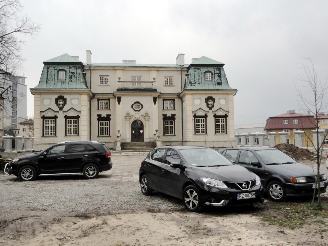 Spacer po Rzeszowie. Letni Pałac Lubomirskich
