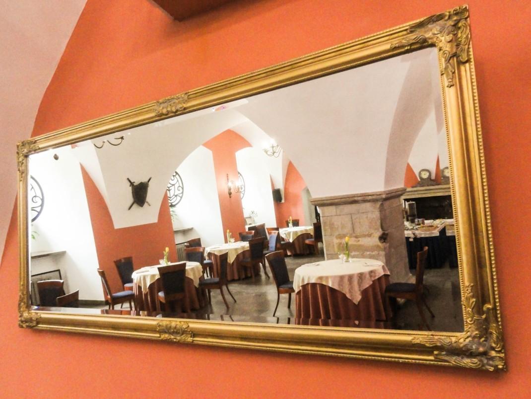 Zamek Krasiczyn. Restauracja Zamkowa
