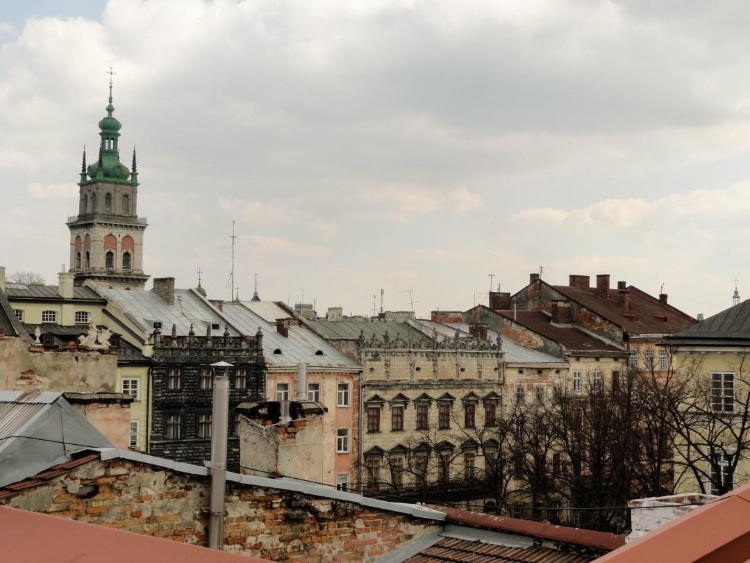 Lwowski Rynek - widok z dachu Hotelu 39