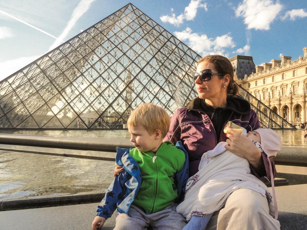 Z dzieckiem w Paryżu