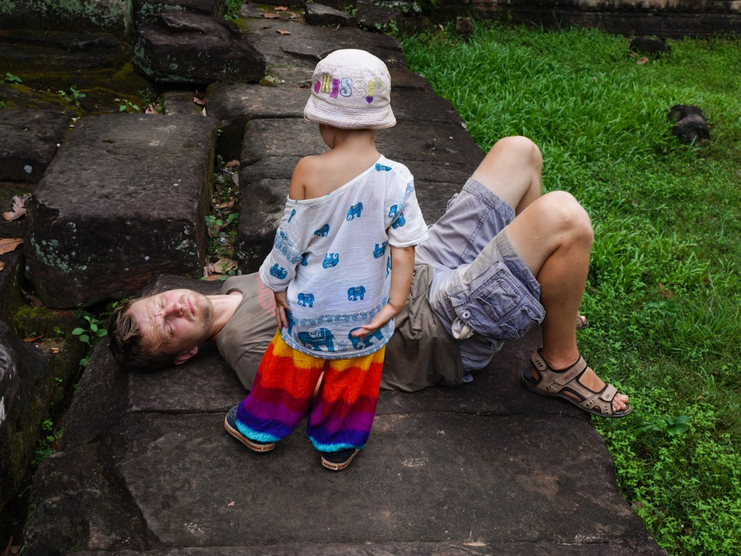 Z dzieckiem na wkacjach