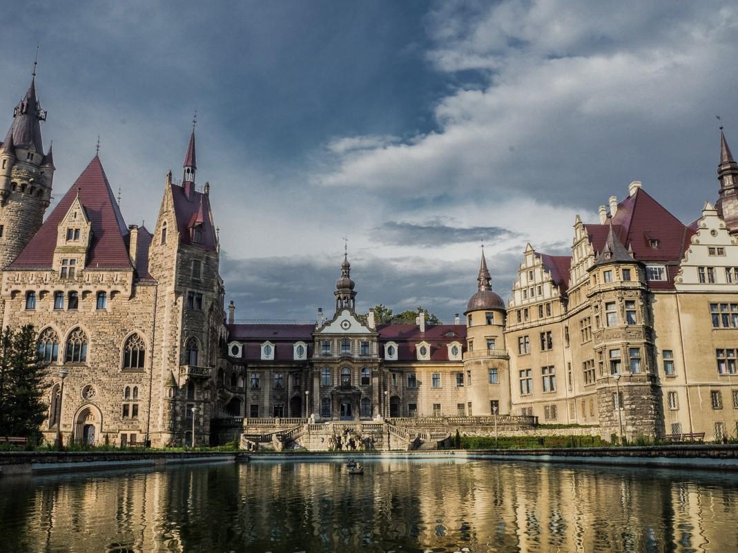 Zamek w Moszne