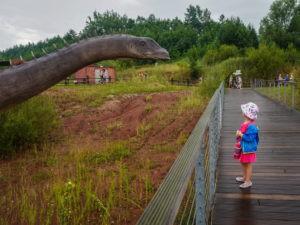 Jeden dzień z dziećmi w Juraparku w Krasiejowie