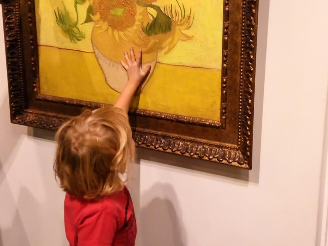 Amsterdamskie muzea z dziećmi. Muzeum Vincenta Van Gogha