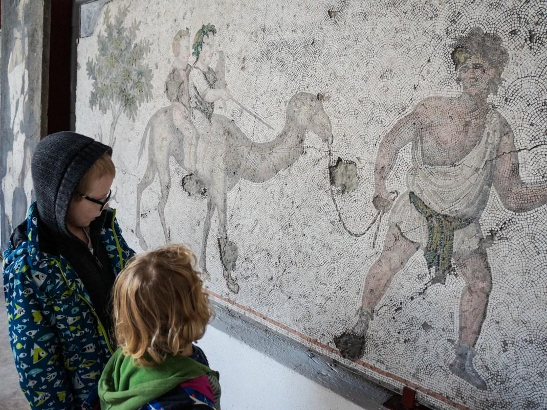 Muzeum Mozaik. Stambuł