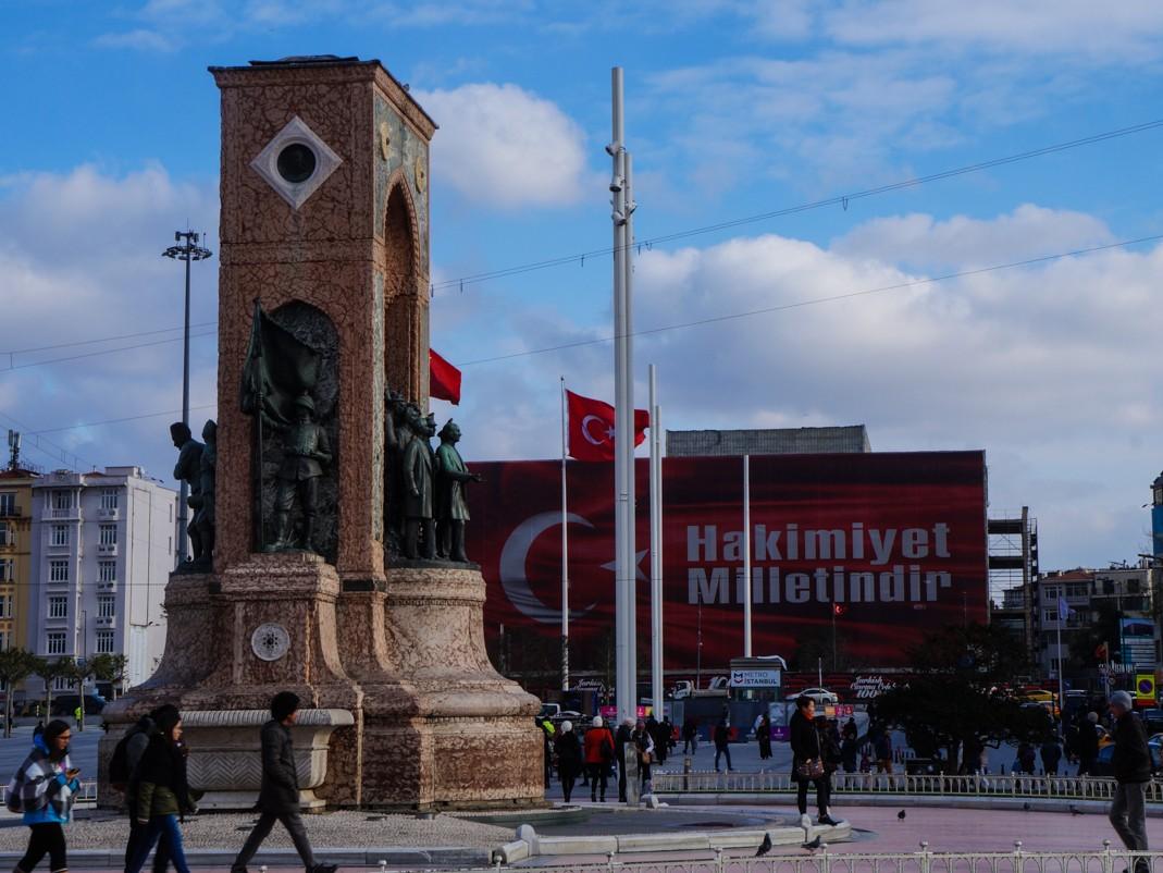 Plac Taksim, Stambuł