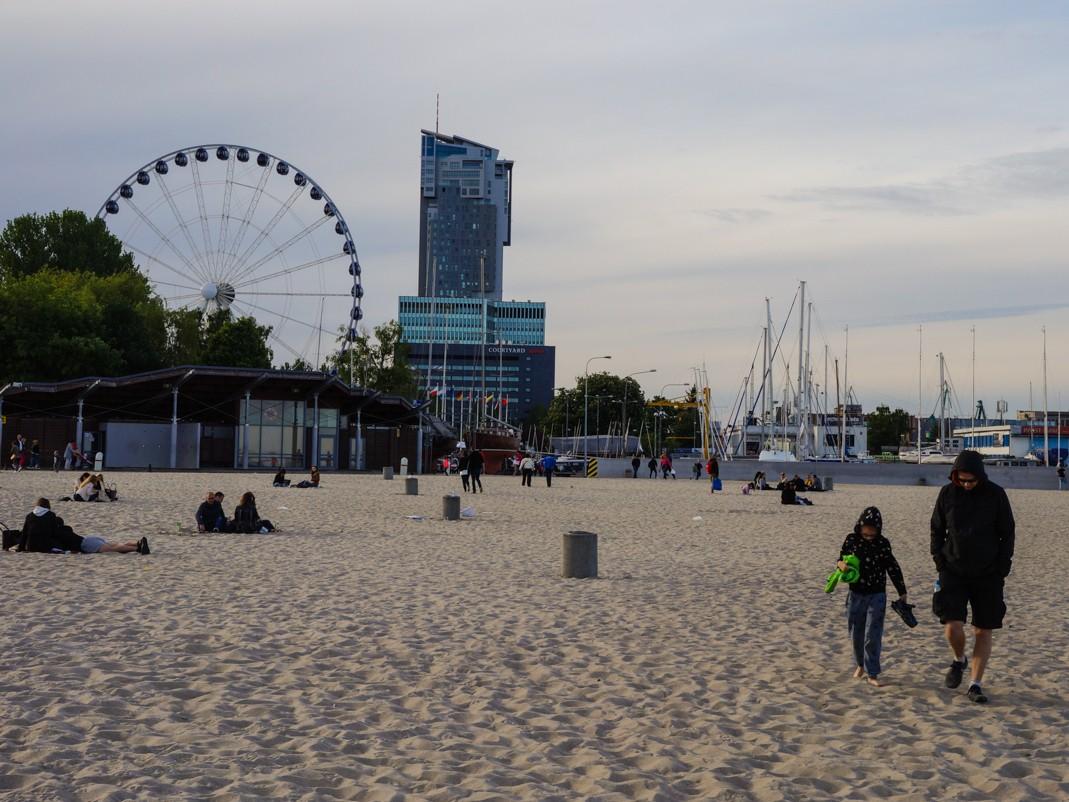 Gdynia. Plaża Miejska