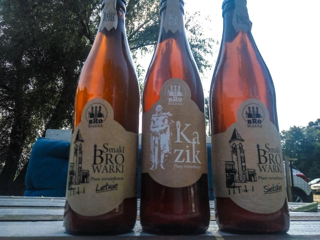 Piwa rzemieślnicze z BroWarki