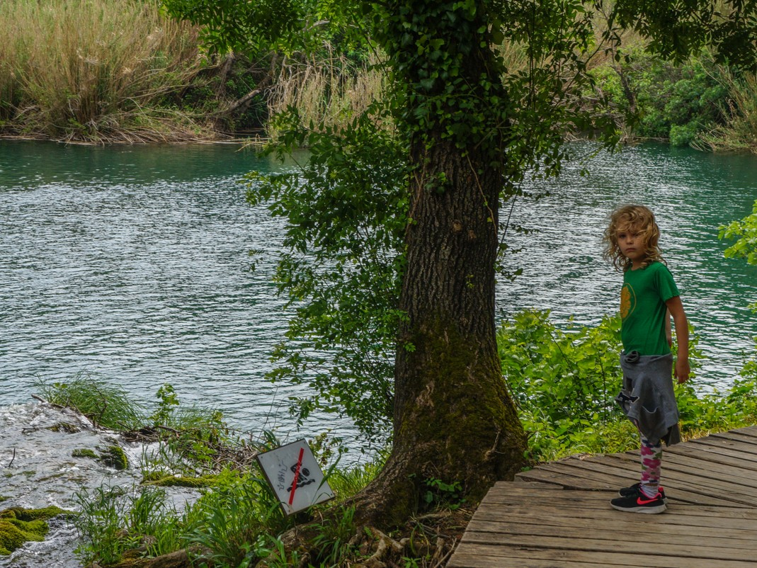 Park Narodowy Krka. Szlak do wodospadu Skradinski Buk