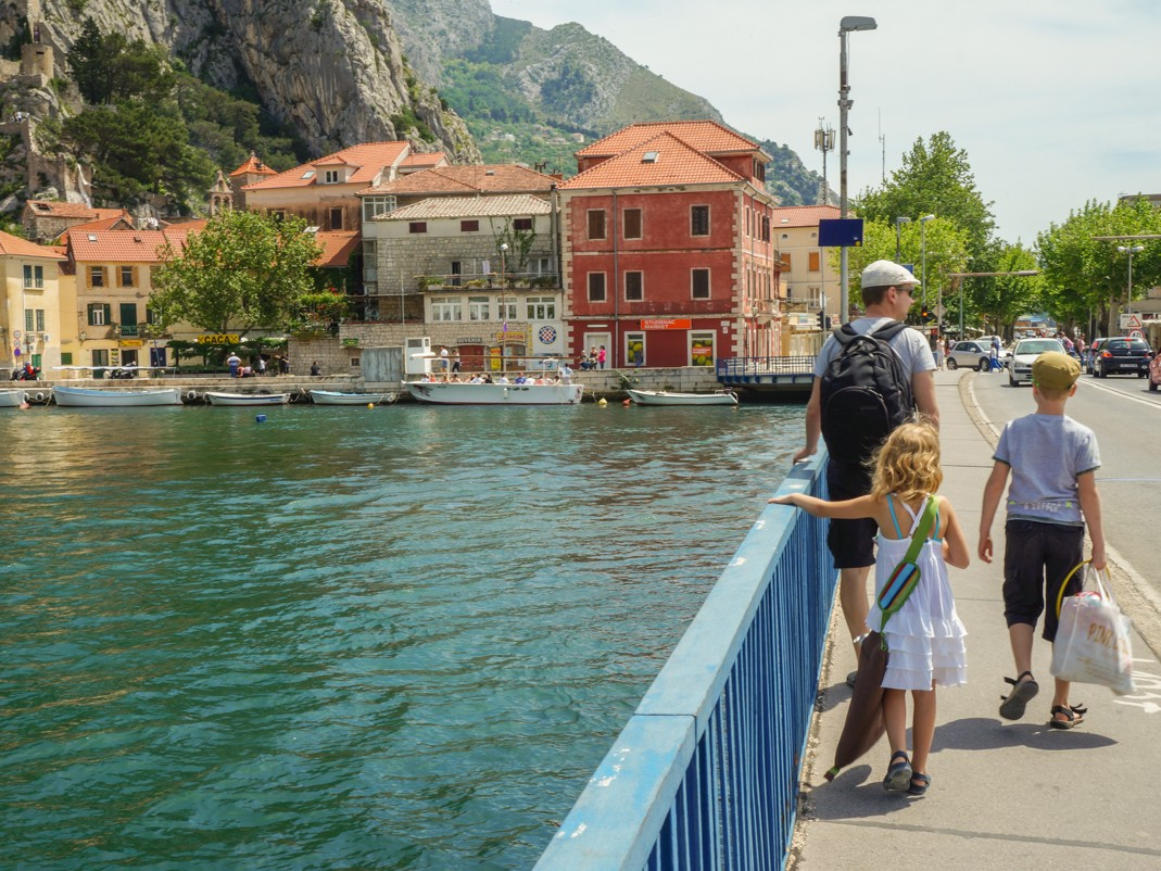 Omiš. Most na Cetinie.
