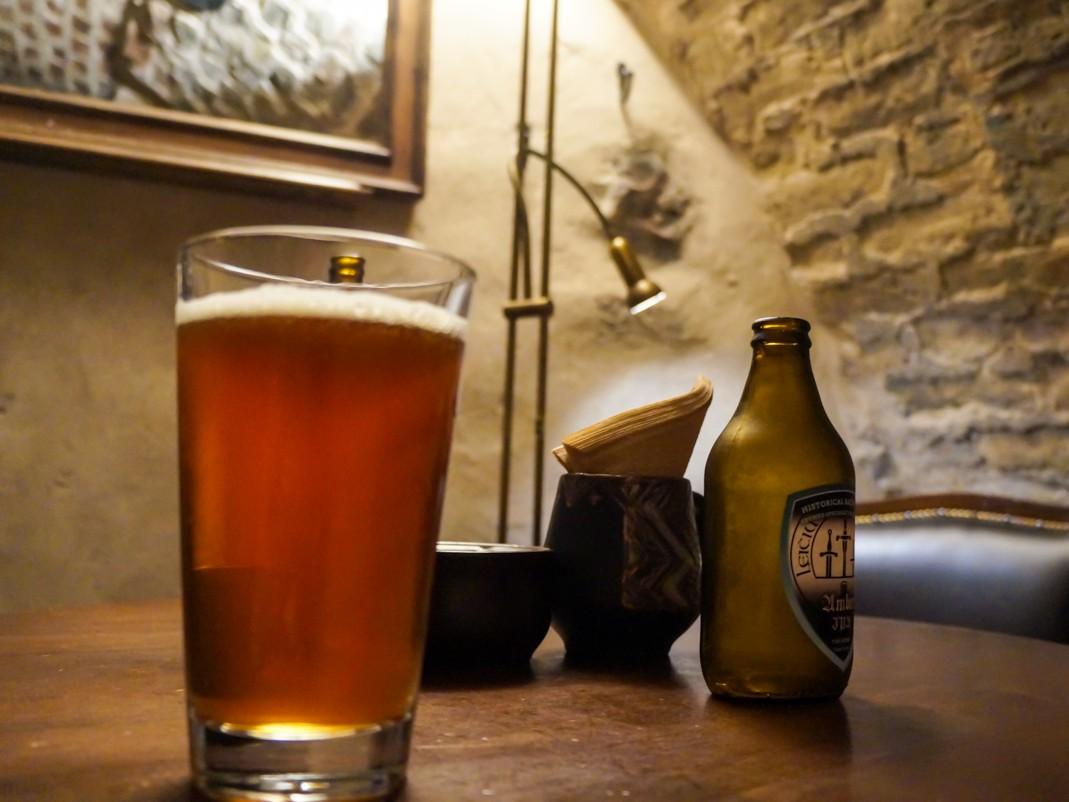 Bambalynė. Piwnica z kraftowymi piwami w Wilnie. Wilno, gdzie pójść na piwo