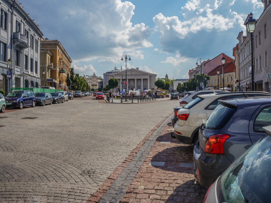 Wilno. Plac Ratuszowy