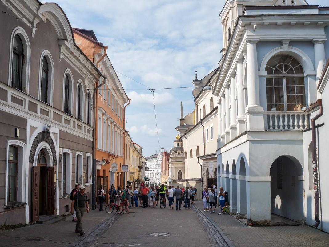 Wilno. Ulica Ostrobramska (Aušros Vartų)