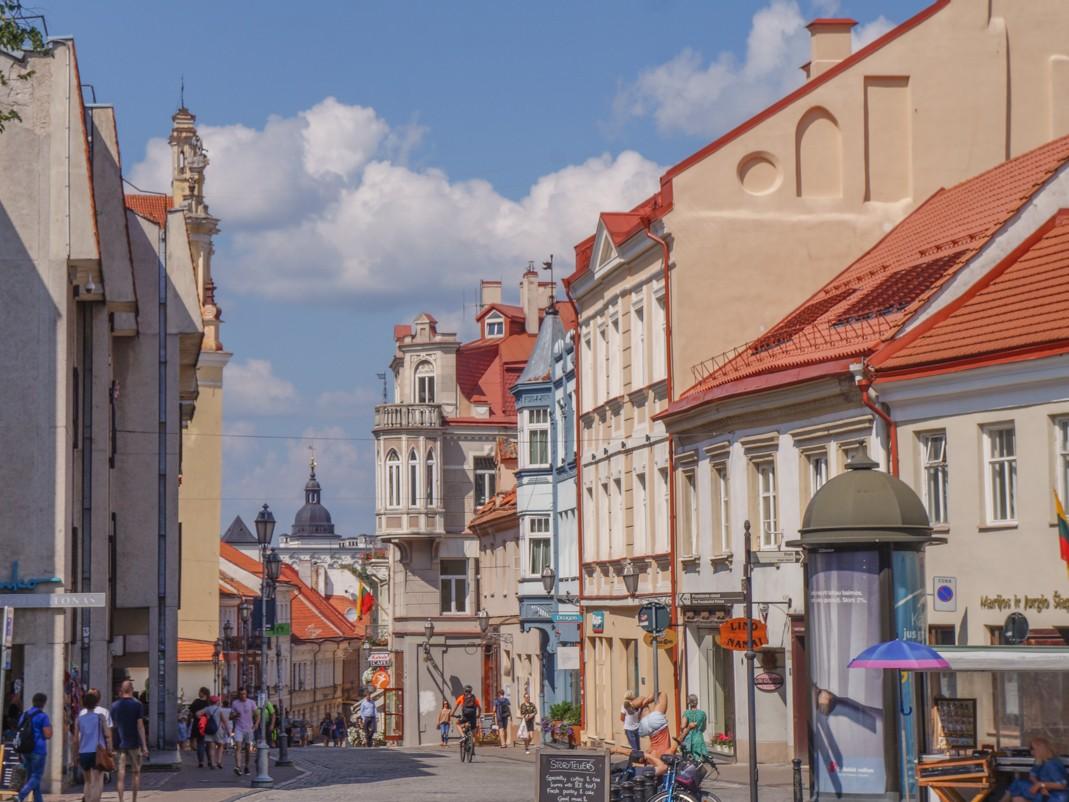 Wilno. Ulica Pilies (Zamkowa)