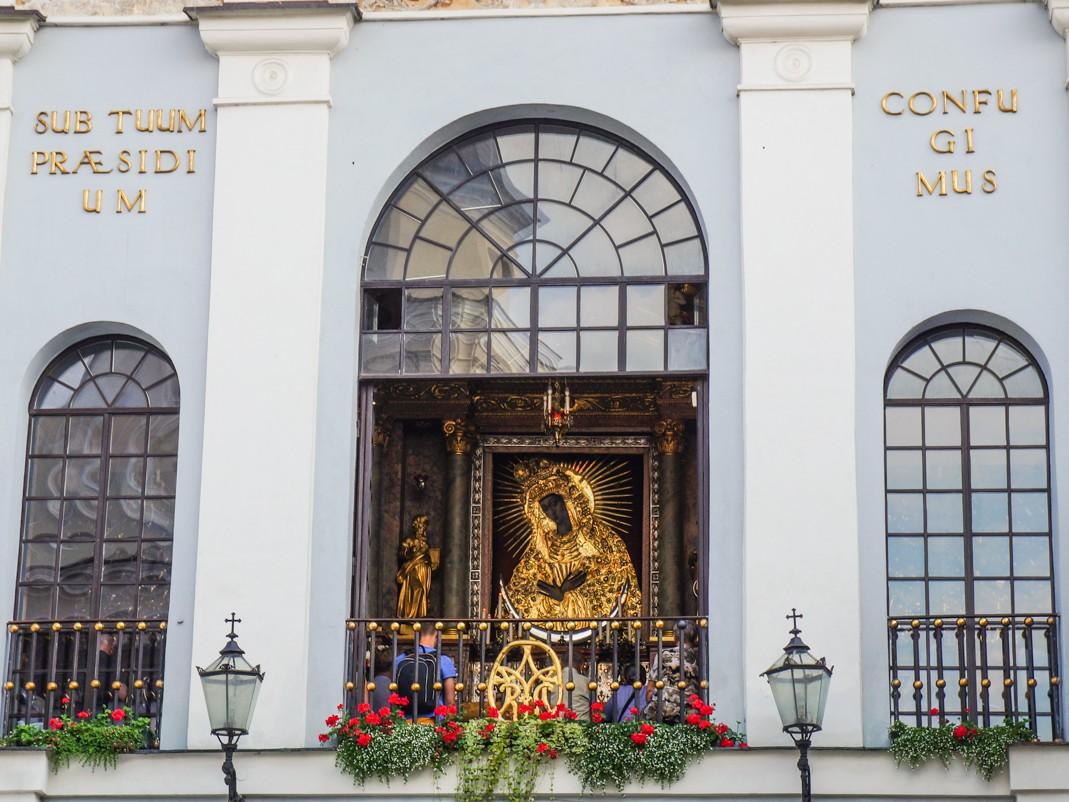 Atrakcje Wilna, co zobaczyć w Wilnie, spacer po wilnie. Ostra Brama