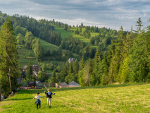 Szlak Gubałówka - Poronin