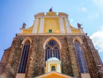 Dawne opactwo cysterskie w Kamieńcu Ząbkowickim. Kościół p.w. Wniebowzięcia NMP