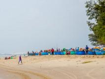 Plaża przy Coco Beach Camp