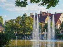 Co zobaczyć w Opolu - multimedialna fontanna