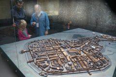 Makieta średniowiecznego Krakowa