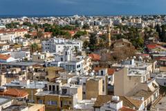 Shacolas Tower: widok na Nikozję