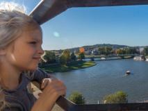 Wisła widziana z Wawelu