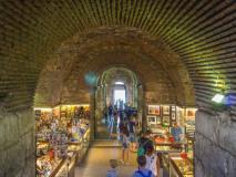 Kramy w podziemiach Splitu