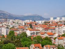 Split. Widok z wieży  Katedry św. Dujama (Domniona)