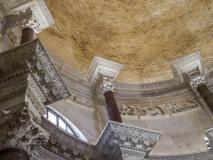 Bogate zdobienia Katedry św. Dujama, czyli dawnego Mauzoleum Dioklecjana