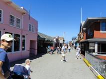 Fisherman's Wharf, Monterey, gdzie kręcono Wielkie Kłamstewka