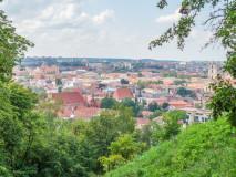 Panorama Wilna z Góry Trzykrzyskiej